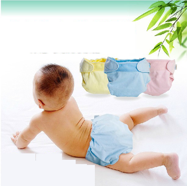 Baby cloth diapers breathable waterproof pocket diapers leak children every diaper baby diapers washable cotton pants cotton