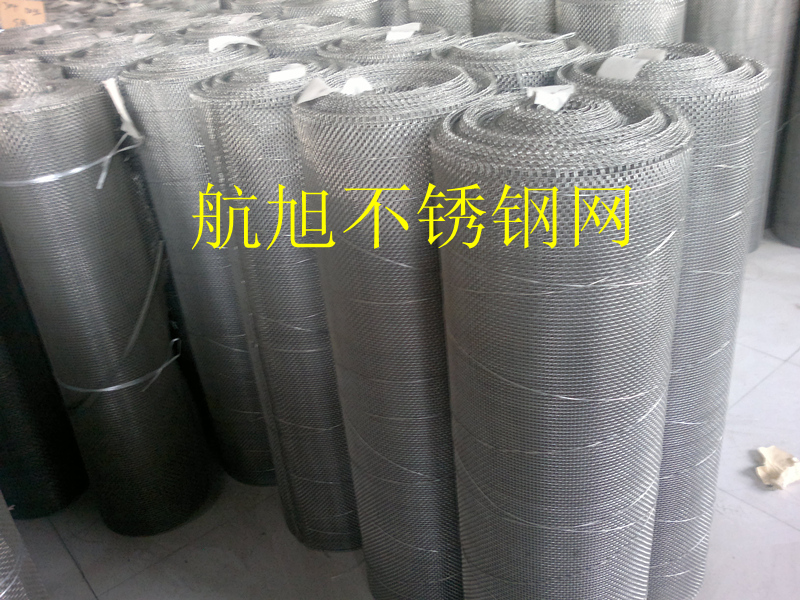 316l stainless steel wire mesh 6 mesh, wrapped edge stainless steel mesh, stainless steel mesh filter Aperture 3.5mm