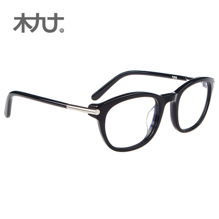 Wood ninety counter new authentic british retro boston 22061b leopard tortoise shell glasses frame for men and women