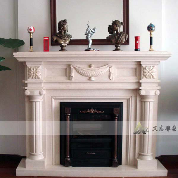 [Ai chi euclidian carved fireplace fireplace marble fireplace sculpture] inner mongolia customer links
