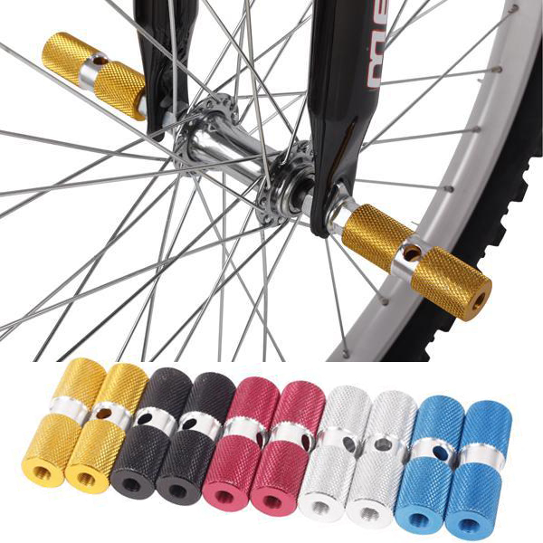 Aluminum solid rocket bike mountain bike pedal foot pedal lever stilts pads balance bar can bring people