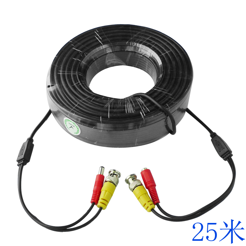 Monitoring accessories monitor power cable video cable product line one line 25 m