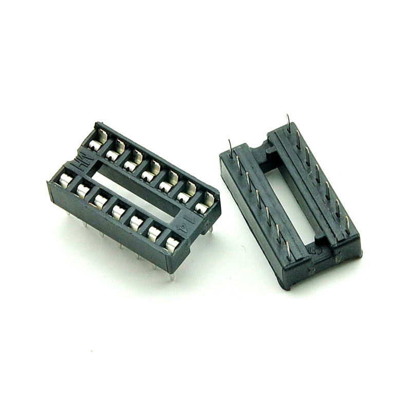 14 p ic chip mounting seat ic socket ic socket ic ic socket base connector