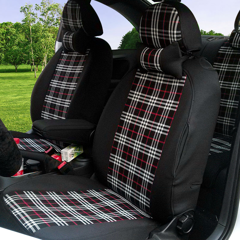 14 toyota vios/cause dazzle yaris/corolla/corolla/yi zhi special scottish plaid seat covers