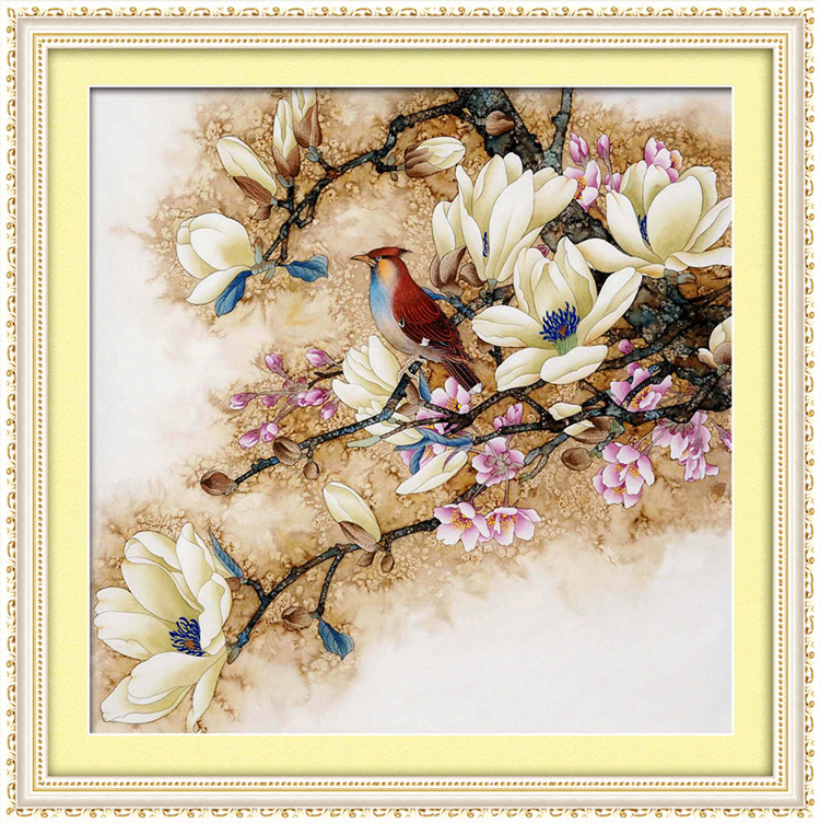 Diamond paste diamond rhinestone embroidery stitch 5d diamond diamond embroidery painting masonry painting the living room full of diamond diamond paste flowers flowers modern bedroom restaurant show