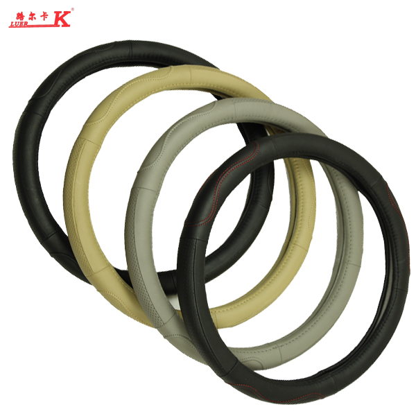 Luer chuck layer of leather car steering wheel cover andhra opel zafira astra leather grips