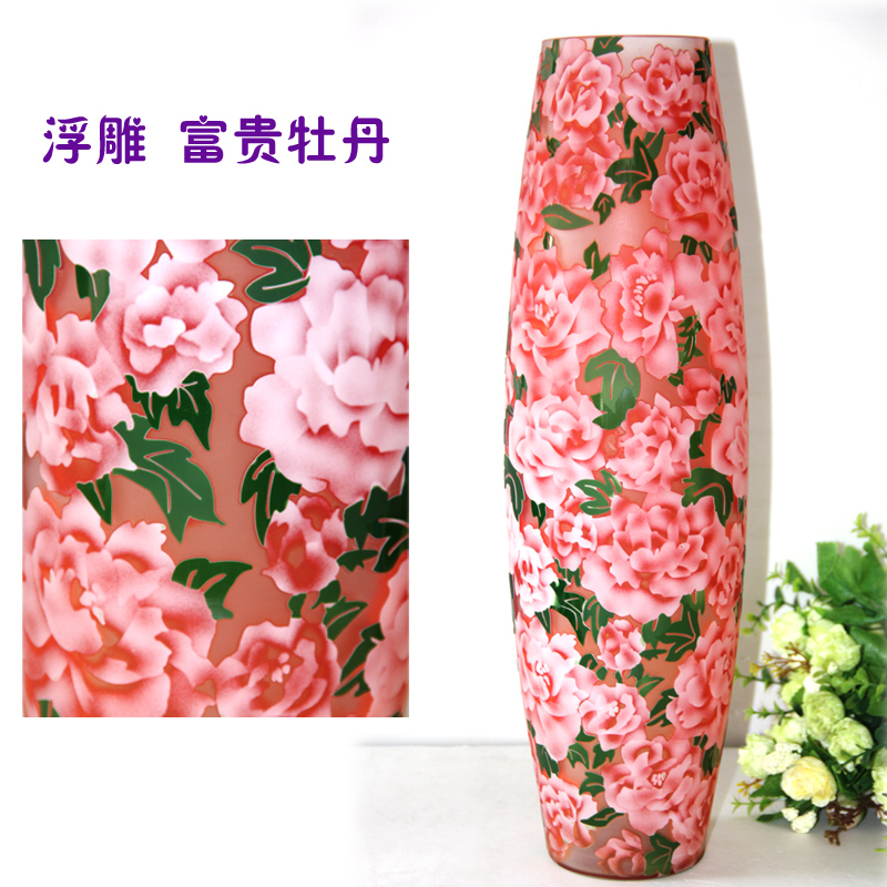 Wedding gifts wedding gifts european modern and stylish glass vase home decorations ornaments peony shipping