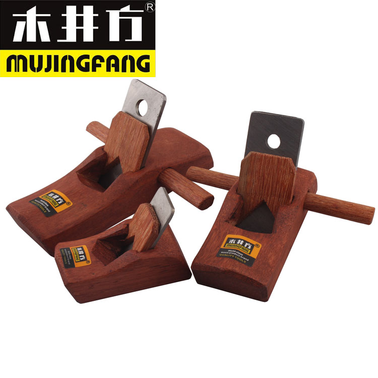 Indonesian mahogany wood wells square plane little light plane woodworking plane plane plane manually angle planing wood planer woodworking tools