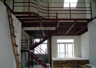 Channel attic-beam loft building-design villa steel welding plus attic floor stairs