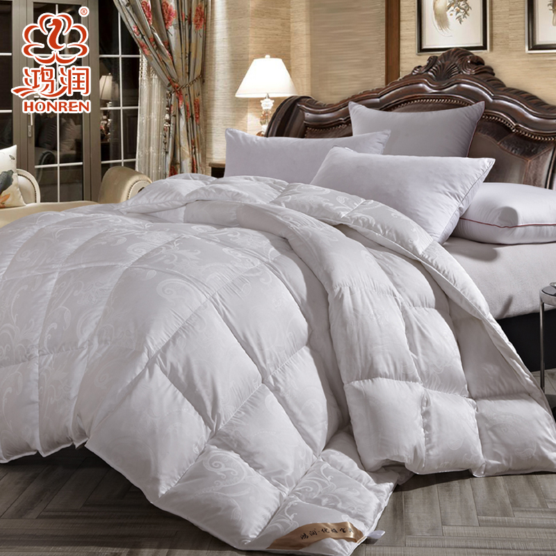 15 years of the new hongrun textile warm winter is 90% white goose down duvet warm winter double