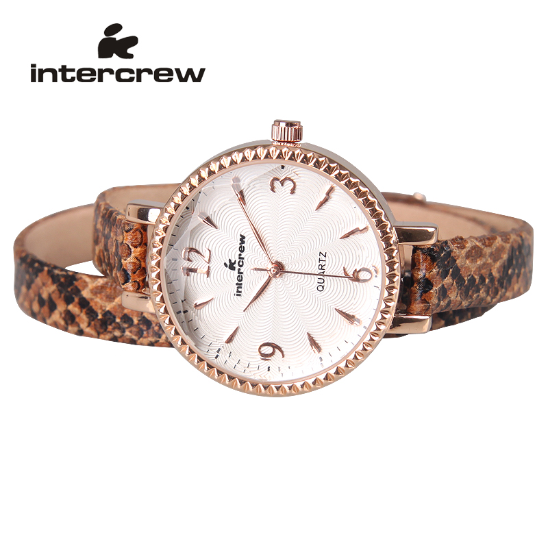Ladies watches authentic korean fashion trend quartz watch waterproof watch female korean fashion serpentine bracelet female form