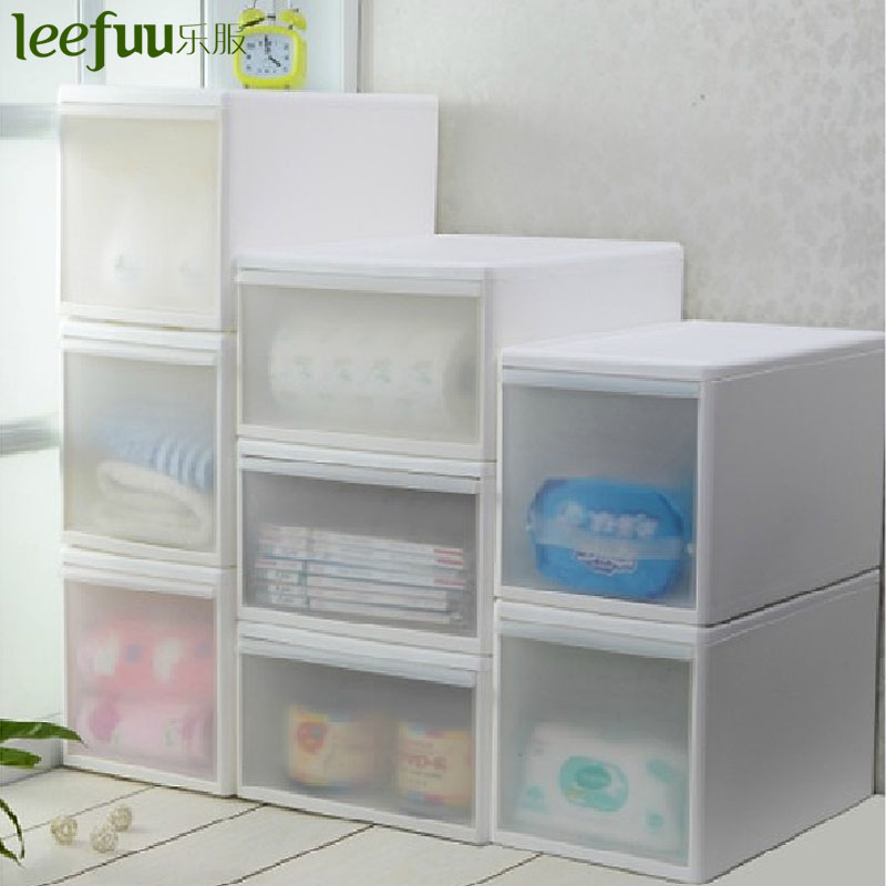Music service/leefuu korea layered large clothes storage cabinet plastic storage cabinet drawers