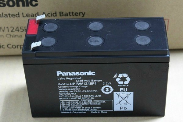 Panasonic panasonic battery up-rw1245 panasonic 12v7. 8ah ups solar battery
