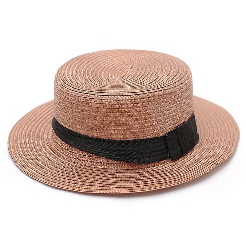 Kat decorated according to the british summer pastoral style retro ms. topped straw hat straw hat straw hat 2 colors