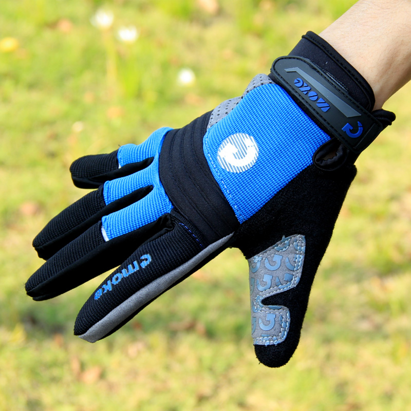 Bike riding gloves gloves long finger gloves bike mountain bike riding warm full finger gloves riding equipment