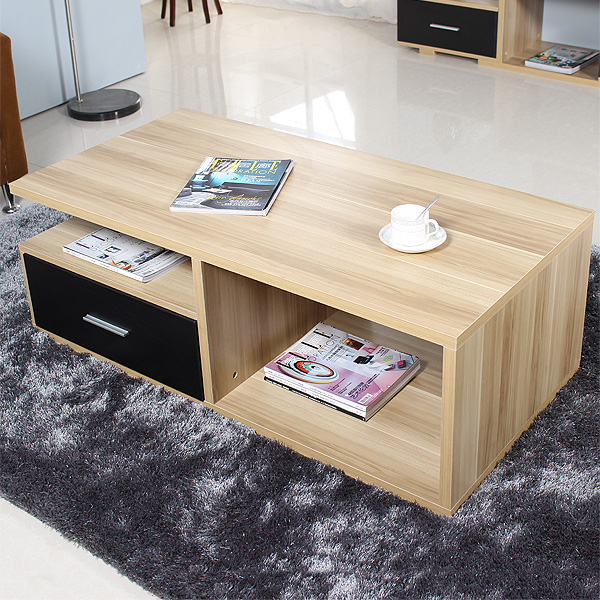 Special offer free shipping new fashion simple modern coffee table coffee table coffee table with black and white living room coffee table small coffee table with drawers assembled