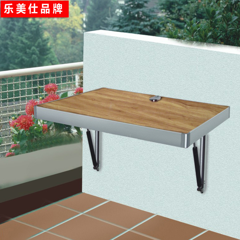 Le mei shi euclidian air control wall table | folding table | solid wood wall table | meal side table leisure table table table wall | Table
