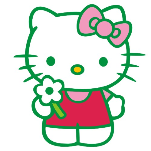 Kt cat cute cartoon car stickers car stickers car stickers decals stickers car modification cover scratches