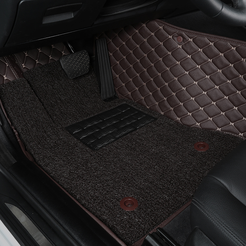 16 the new cadillac cts xts srx ats-l special footpads ct6 wholly surrounded by wire loop car mats