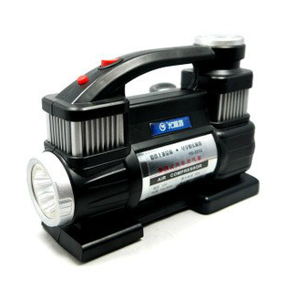 You lite 3302 twin air pump car tire inflator pump playing pump car playing pump car air pump air pump