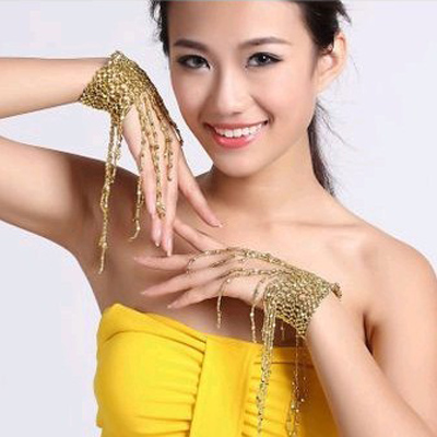 Fly charm belly dance tassel hanging ear belly dance bracelet jewelry accessories arm chain arm arm chain single chain
