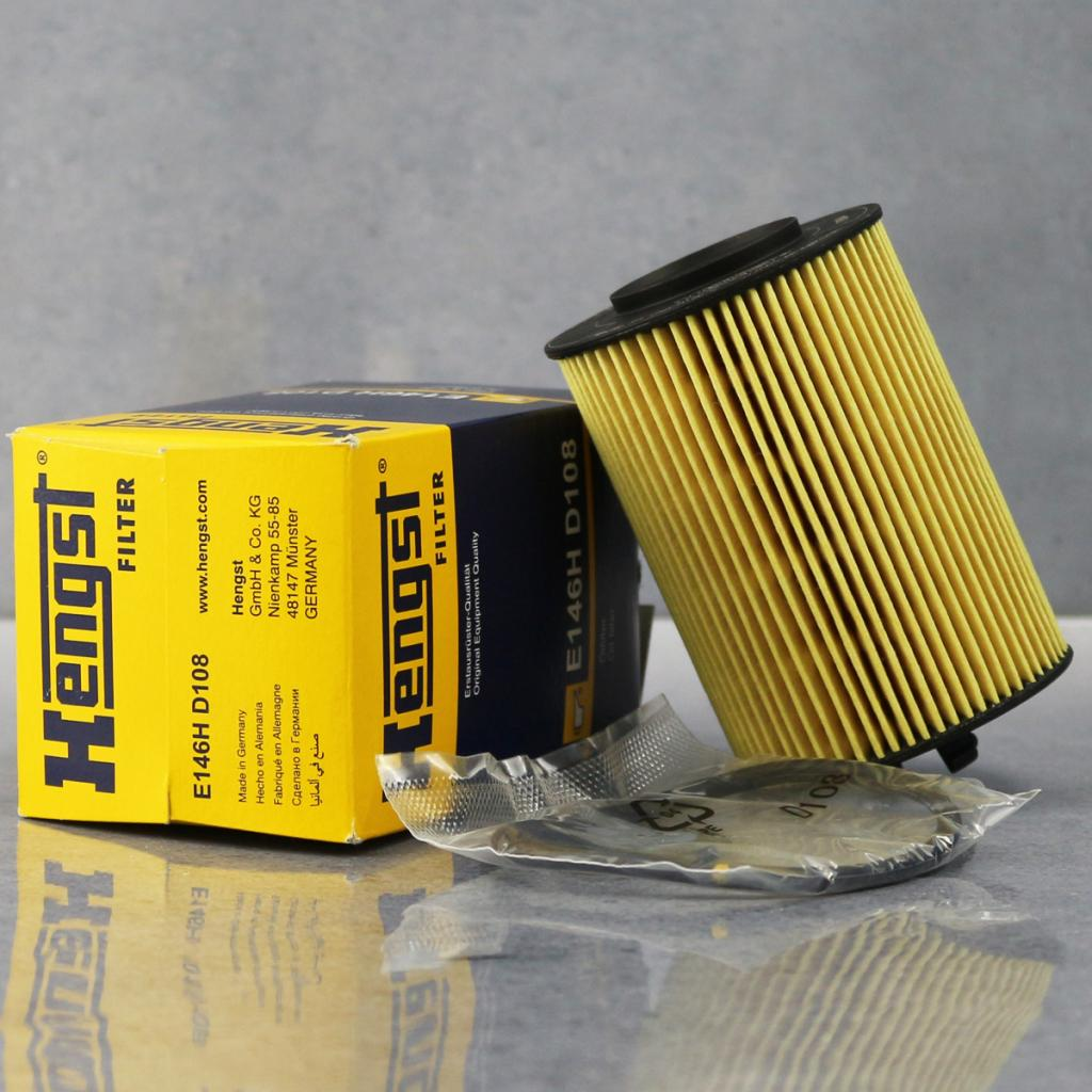 Old mercedes a160 a180 b200 | hengst oil filter filter grid E146H d108