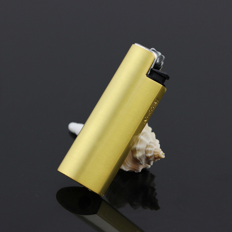 Spain clipper can lifestyle lighter refillable lighters creative personality inflatable flint lighters junya golden