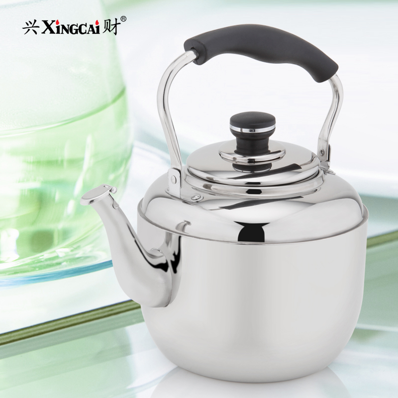 Hing choi 4l classic beep kettle/stainless steel kettle/kettle cooker gas stove applicable