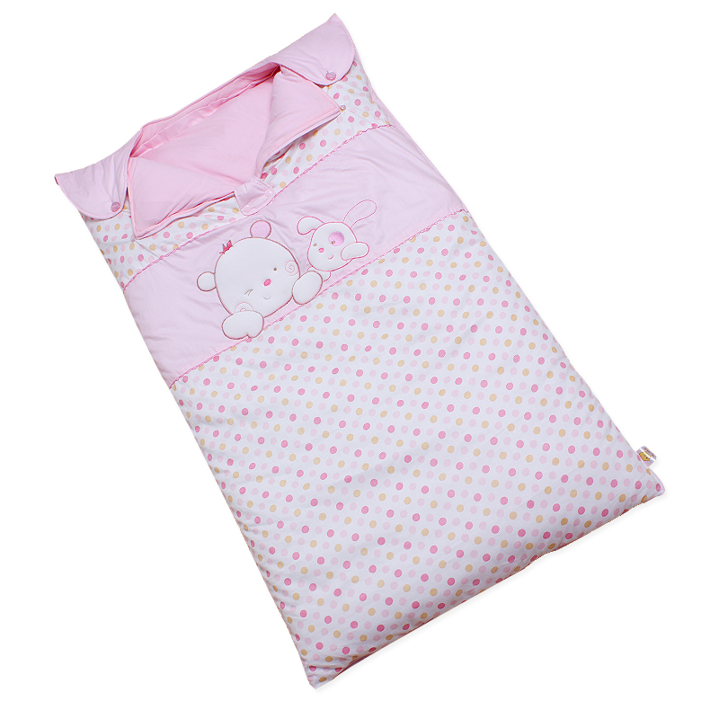Feifei bear sleeping bag baby sleeping children shoulders double gall kick sleeping bag sleeping bag anti tipi children sleeping bag baby essentials