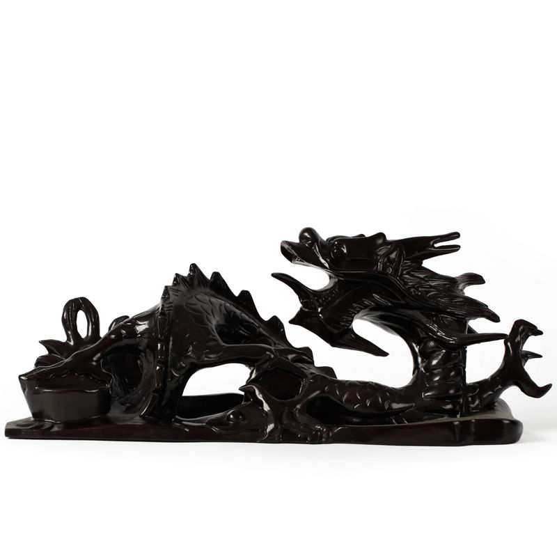 Mushi about openwork carving 12 zodiac feng shui home crafts rosewood mahogany wood carving dragon dragon ornaments