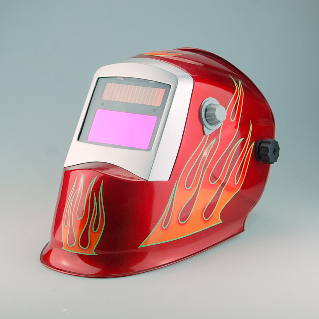 Exported to europe and high quality auto darkening welding helmet WH8711125