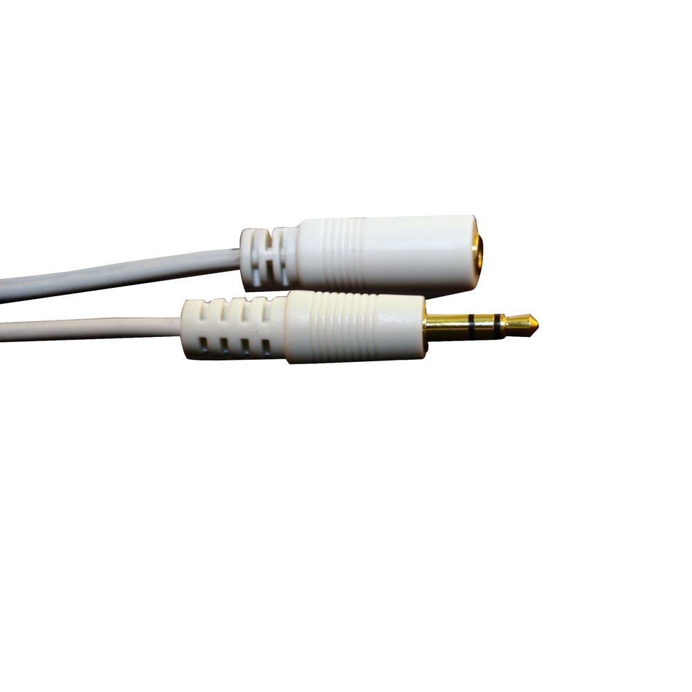 Cool off dc3.5 male to female mobile computer headphone extension cable audio extension cable aux extension cord
