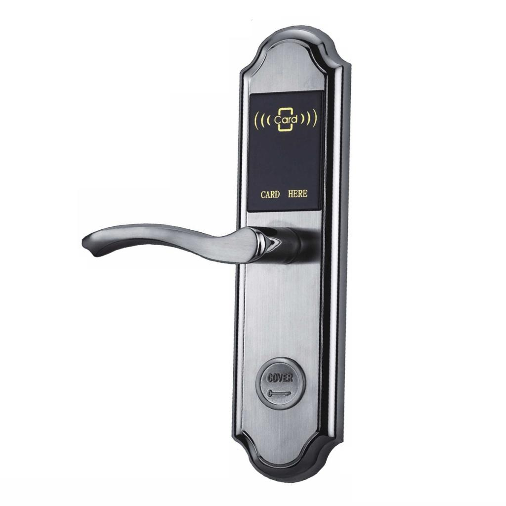 Win crown 304 stainless steel electronic locks hotel lock hotel lock ic card lock sensors lock smart lock brush card lockset Scheduled