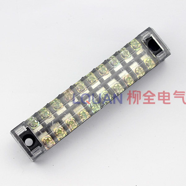 Tb-1510 (iron) 10/15a terminal blocks row wire terminal connector