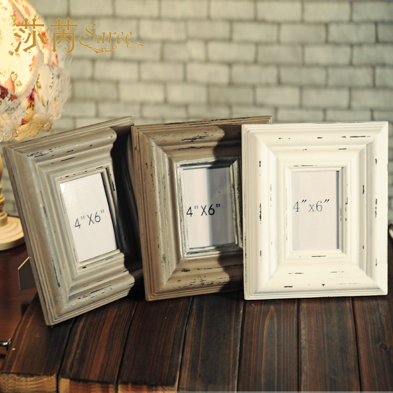 American country european retro imitationèè®between 6 inch wood frame photo frame photo frame wall photo frame gift