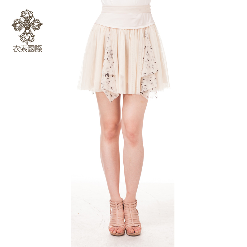 Clothes cable/espresso counter genuine korean slim summer women's skirts EWMMS0070