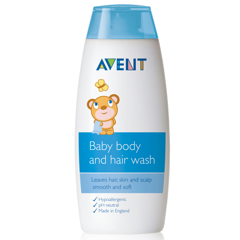 [Lynx supermarket] british imports avent baby shampoo and shower gel 200 ml