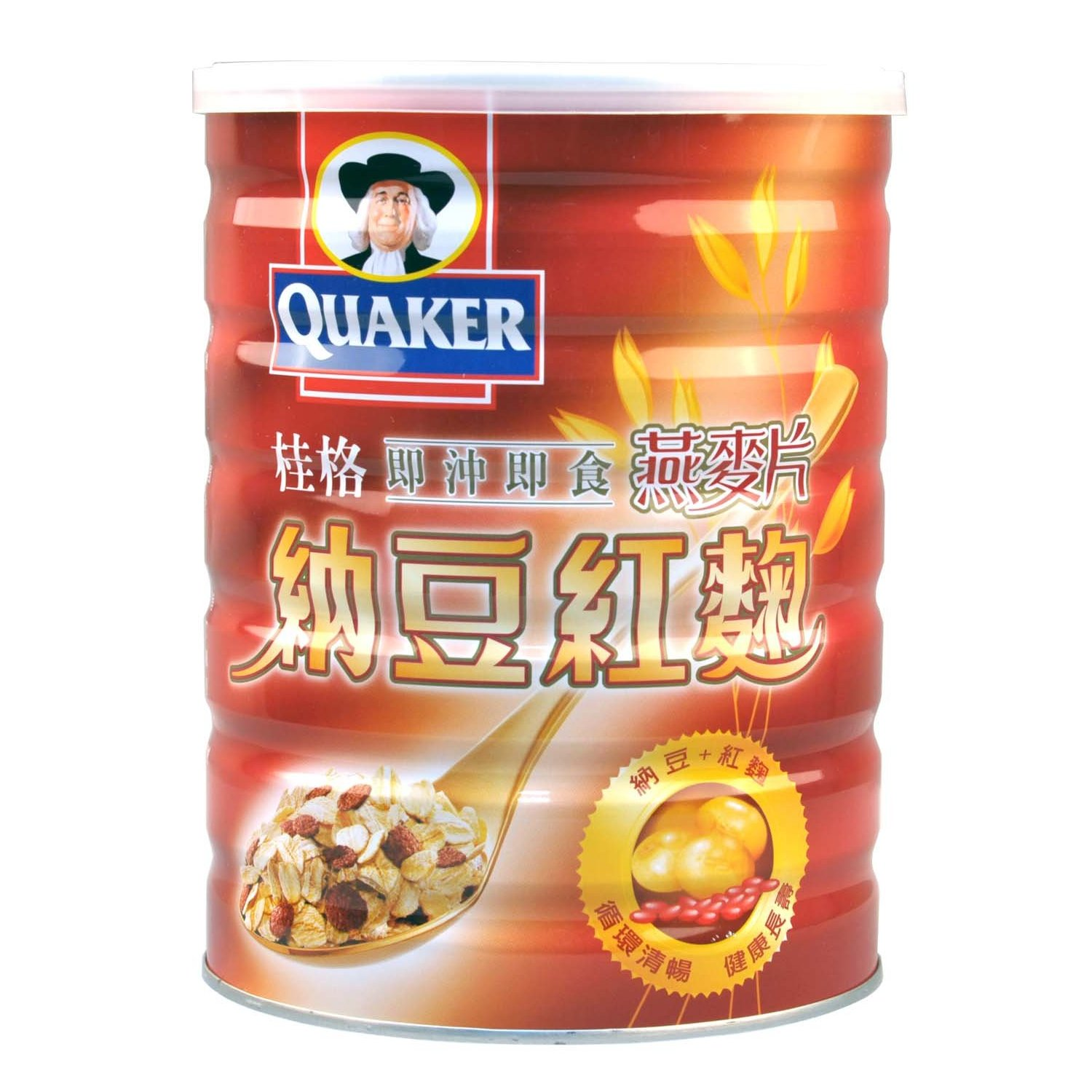 [Supermarket] lynx natto red yeast rice imported from taiwan quaker oatmeal 700g/cans