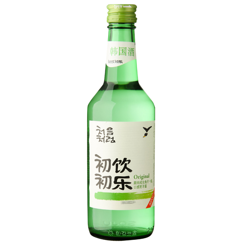[Lynx supermarket] south korea imported lotte/lotte early music early drink soju 17.5 degrees/360 ml /Bottle