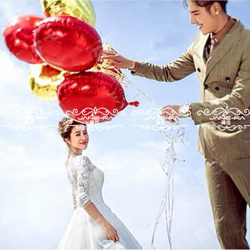 18 inch aluminum balloons birthday party supplies wedding wedding arrangements wedding anniversary holiday decorative aluminum foil balloons round