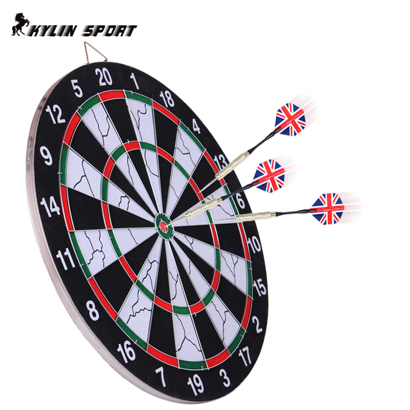 18 inch dart board dartboard suit adult children's entertainment sided flocking dartboard dartboard darts needle darts