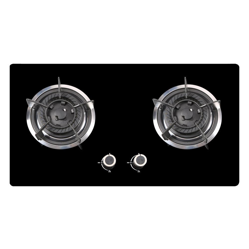 Hi all the earth z201 black glass embedded gas stove gas stove gas stove gas stove gas stove can be customized diy