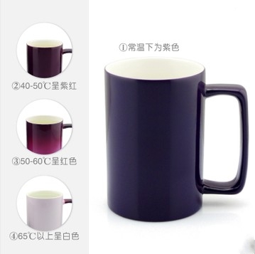 Custom color cup creative custom photo mug cup discoloration cup cup water cup custom photo mug couple birthday