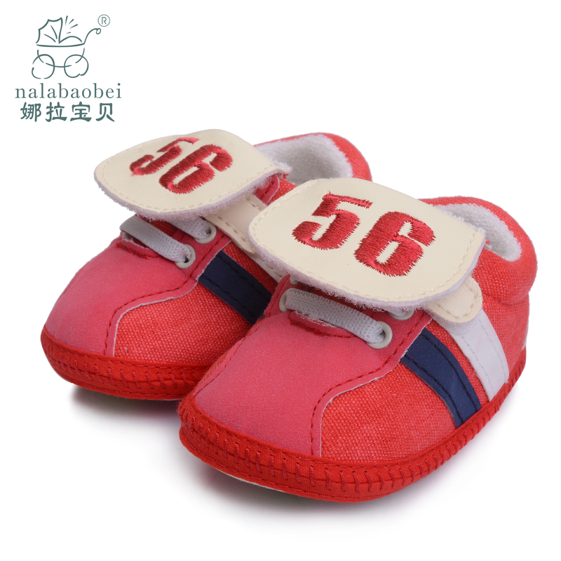 Nora baby baby baby shoes soft bottom step before baby toddler shoes for men and women shoes slip shoes baby shoes spring