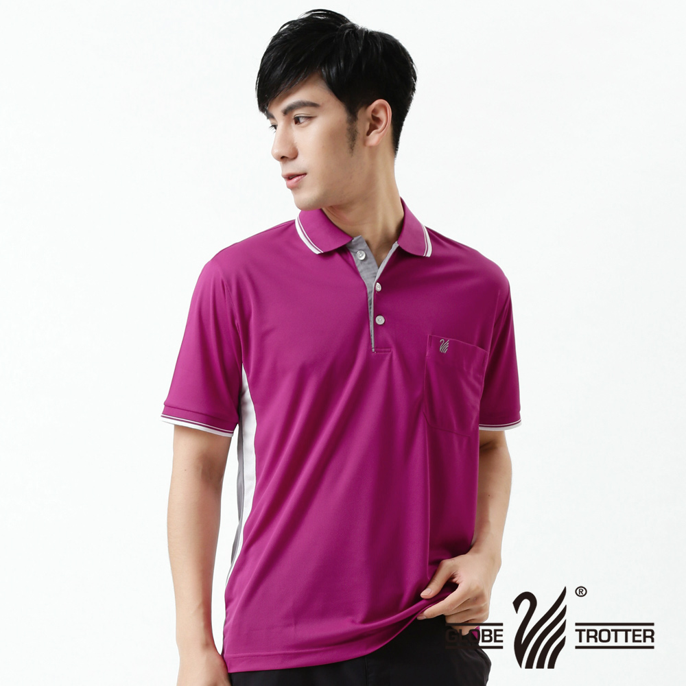 [Tour all over the world] mit s_1 polo shirts men's casual anti uv wicking function 40