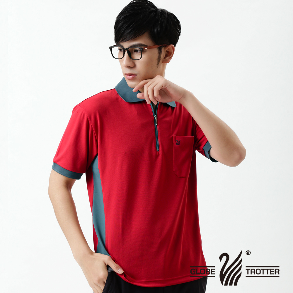 [Tour all over the world] mit sv polo shirts men's casual anti uv wicking function 037