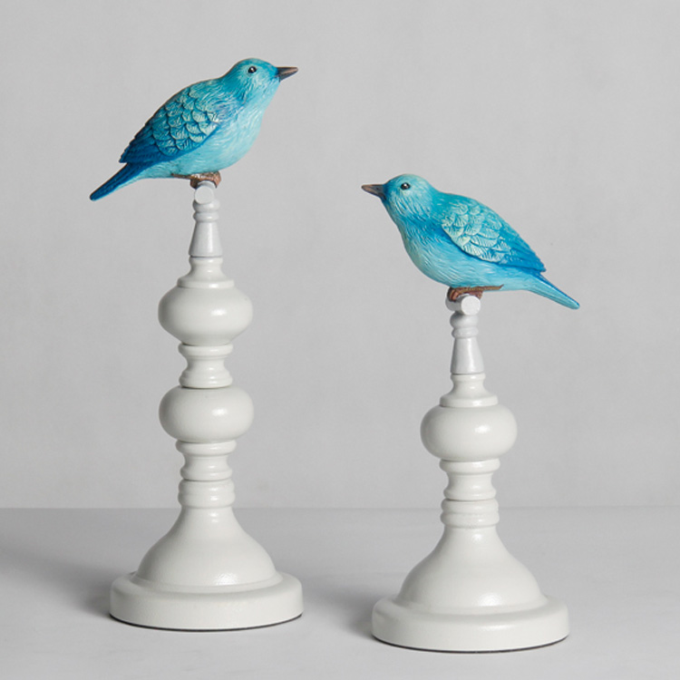 European pastoral creative decorations abstract porch furnishings fashion crafts home furnishings modern bird ornaments
