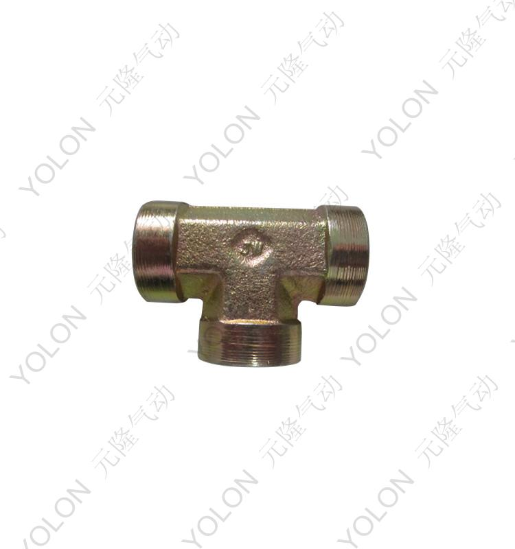 [Yolon] hydraulic pneumatic hydraulic hydraulic hydraulic fittings within silk tee tee tee steel joints
