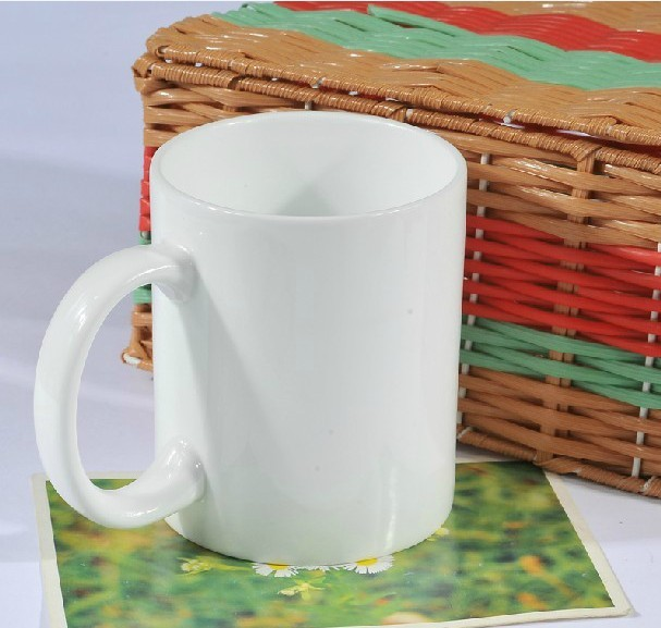 Thermal transfer white cup personalized mug cup plus white type thermal transfer coating mug cup thermal transfer color cup cup Consumables