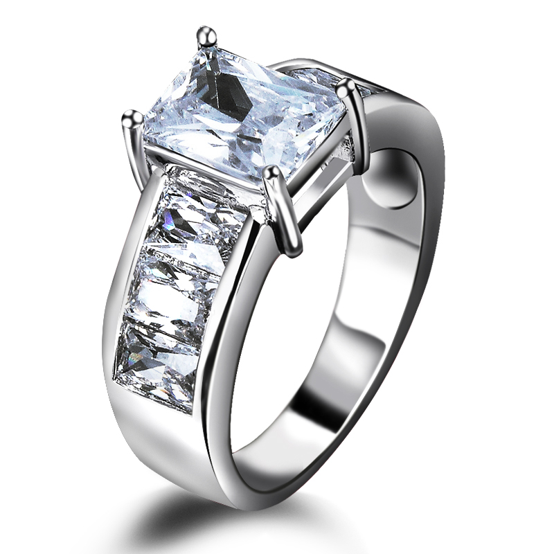 Dream love fashion jewelry new wedding flow jewelry cz ring ring ol female fashion to send his girlfriend ceremony